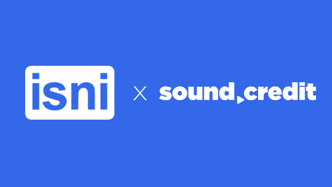 isni and sound credits logos